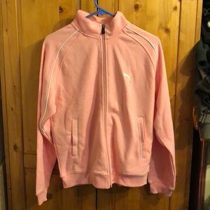Puma pink jacket size L
